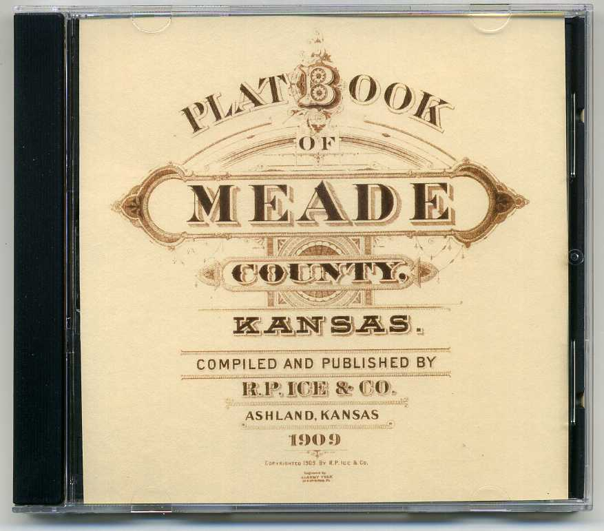 1909 Platt Book of Meade County KS